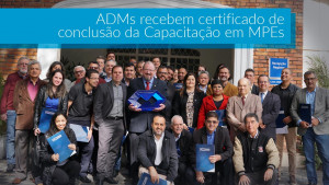 Capacitação em MPEs: terceira fase é encerrada com entrega de certificados