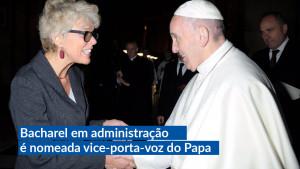 Brasileira assume a vice-diretoria da Sala de Imprensa