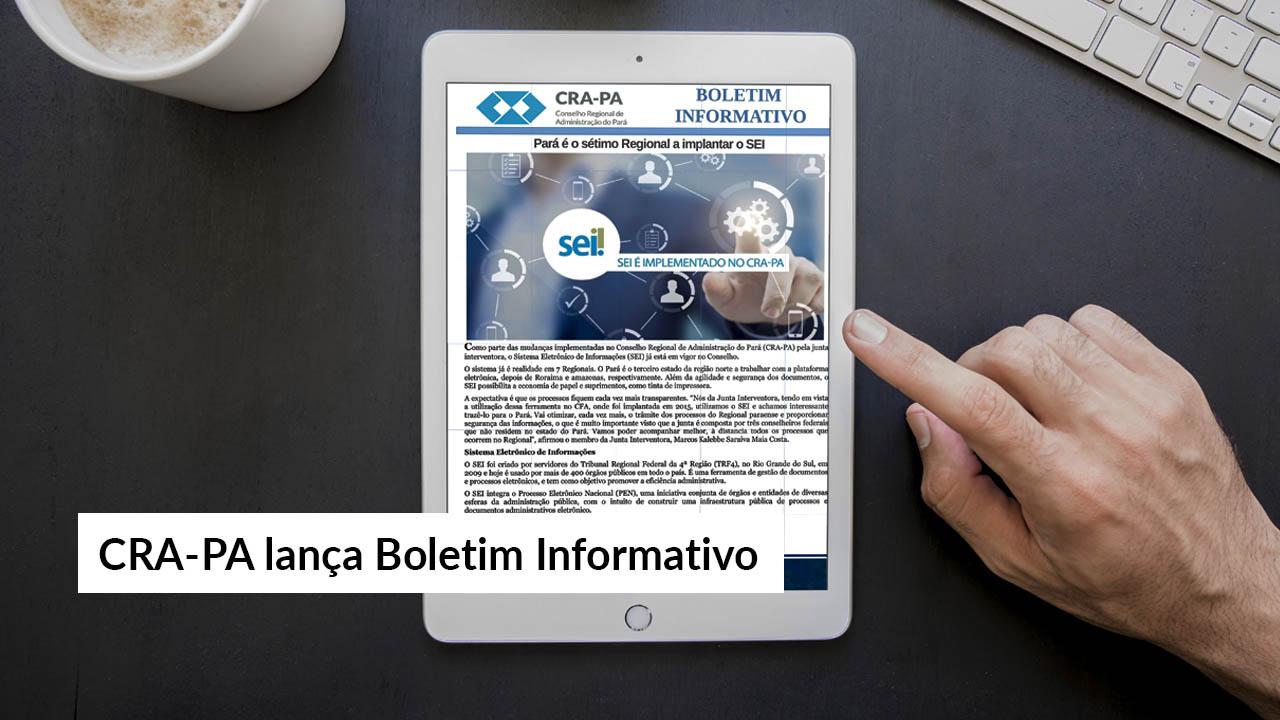 Informativo surgiu da iniciativa dos colaboradores do Regional