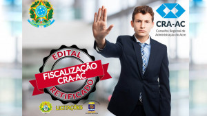 CRA-AC: Regional retifica edital de licitação