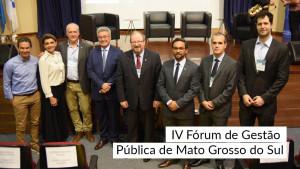 CRA-MS realiza fórum que reúne gestores em busca de maior assertividade na gestão pública