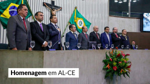 Presidente do CFA recebe homenagem na AL-CE