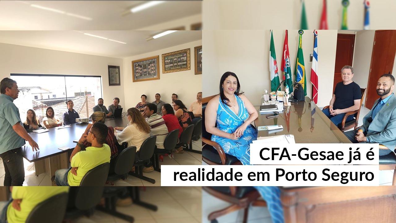 Servidores de Porto Seguro conhecem o CFA-Gesae