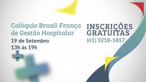 Últimas vagas para o Colóquio Brasil-França. Faça já sua inscrição!