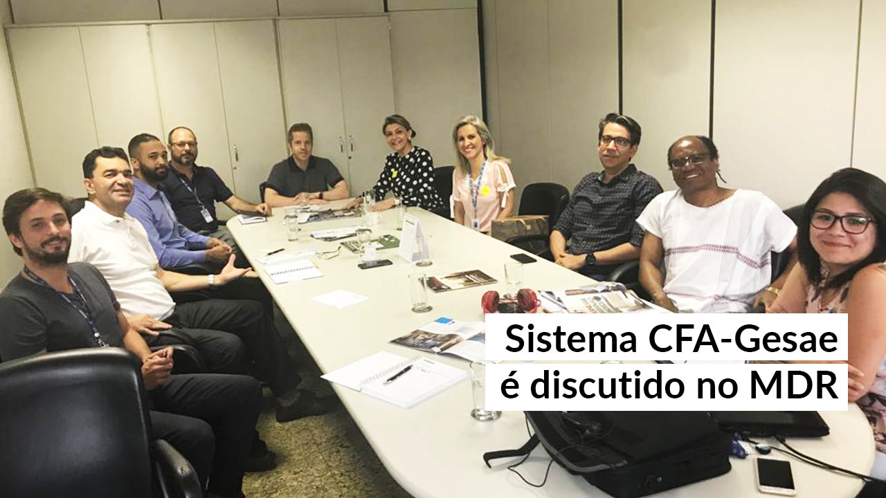 CFA e MDR: instituições podem formalizar parceria de gestão pública