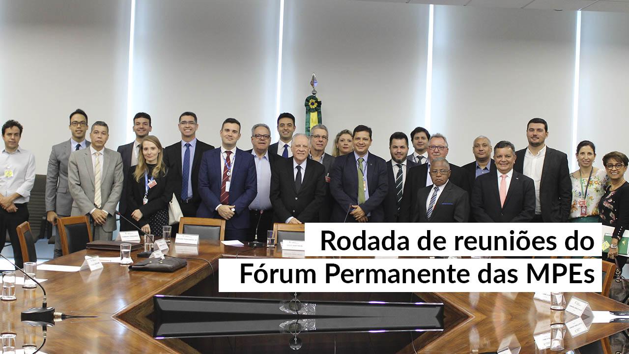 Ministério da Economia realiza reuniões do Fórum Permanente das MPEs