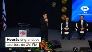 Vice-presidente impressiona plateia