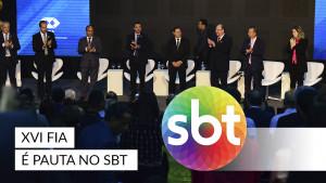 XVI FIA na mídia: palestra de Mourão foi notícia no SBT