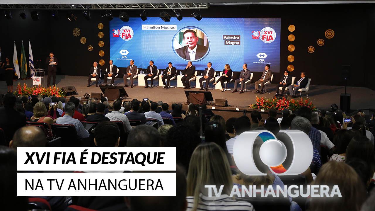 XVI FIA na mídia: evento foi notícia na TV Anhanguera
