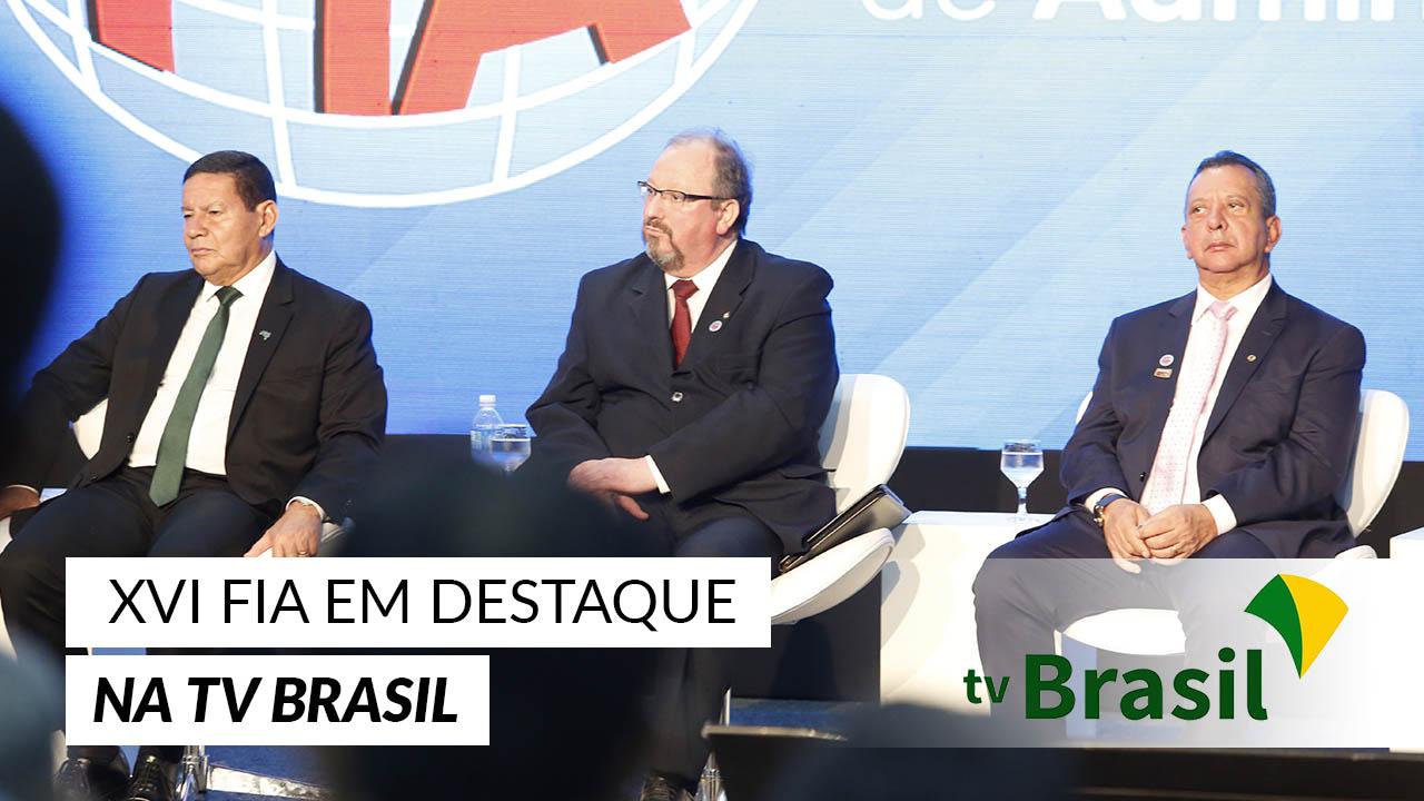 XVI FIA na mídia: TV Brasil fala sobre abertura do evento em Palmas