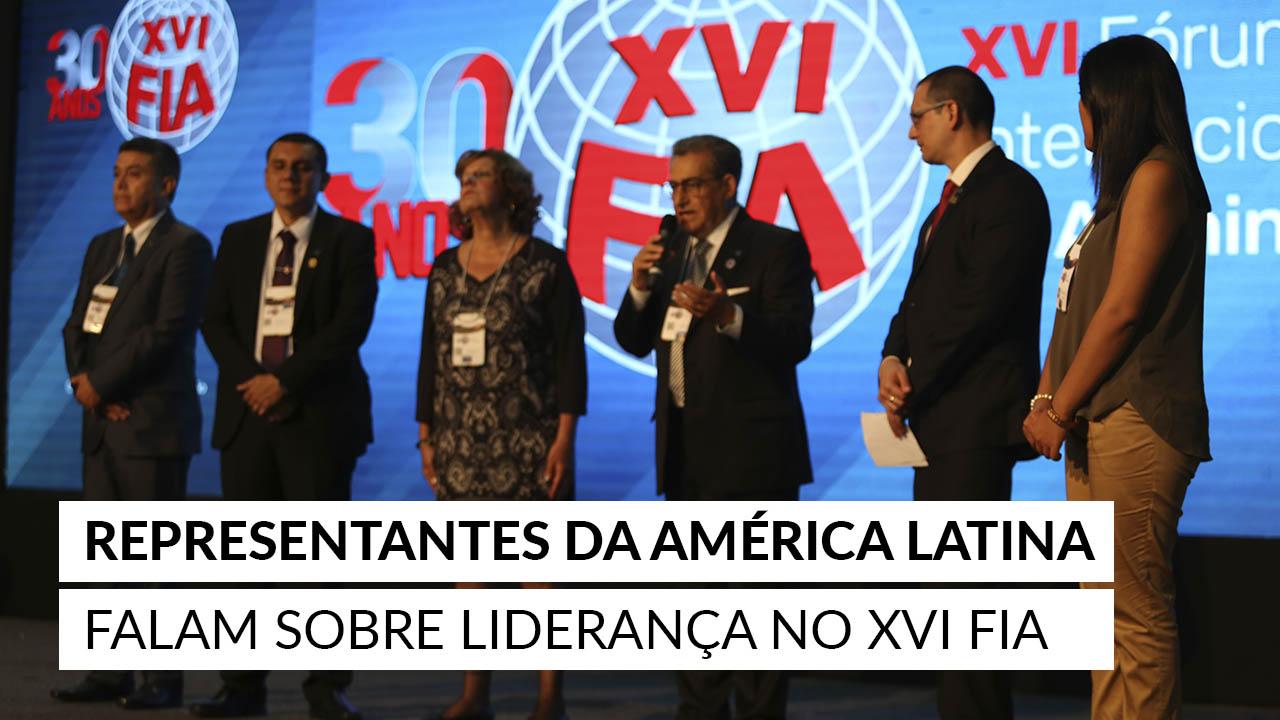 Representantes da América Latina falam sobre liderança no XVI FIA