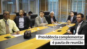 Equipe do Sebrae Previdência visita o Conselho Federal de Administração