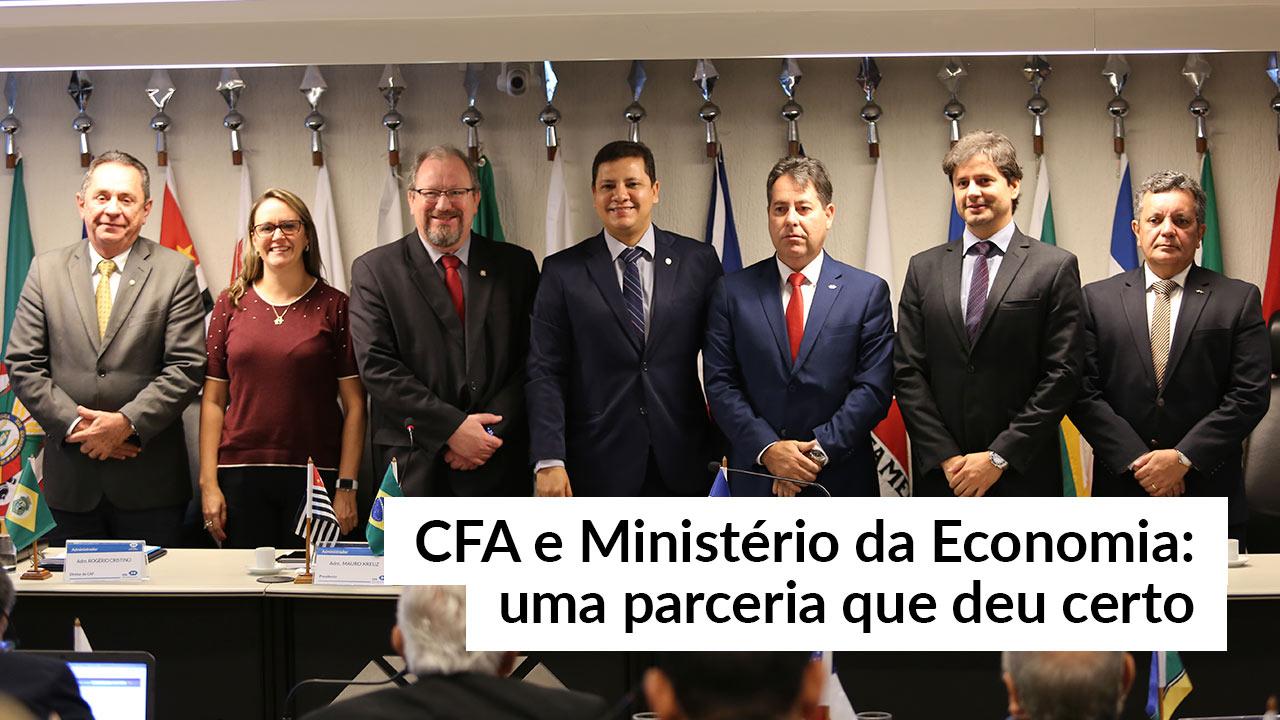 CFA e Ministério da Economia renovam parceria