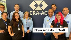 CRA-AC inaugura nova sede com mais conforto e acessibilidade