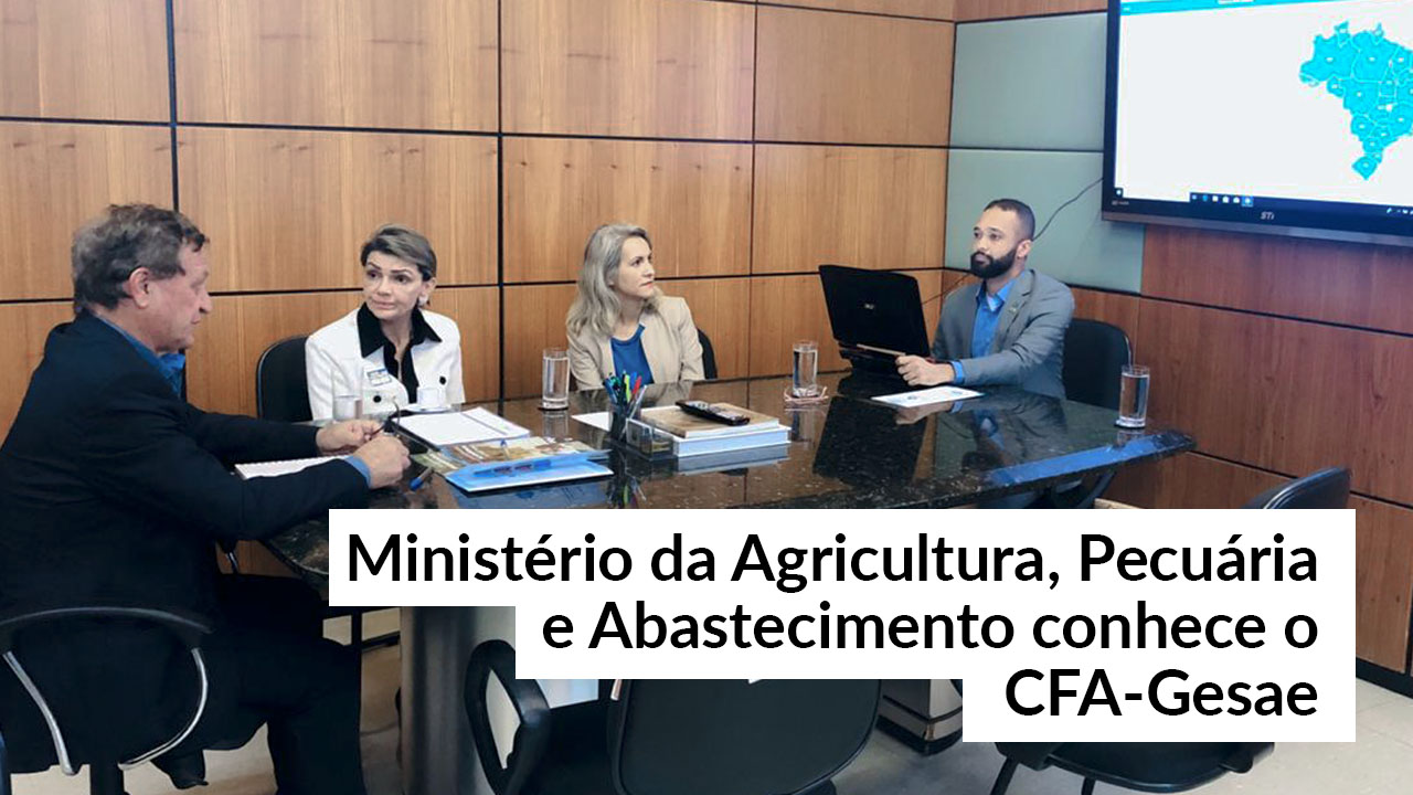 Sistema de Governança do CFA é apresentado no Mapa
