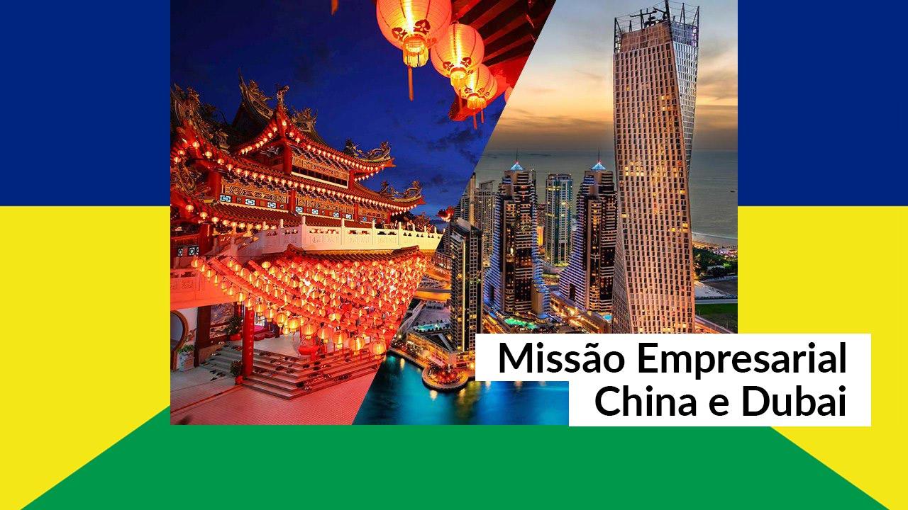 Profissionais de Administração na Missão Empresarial China e Dubai