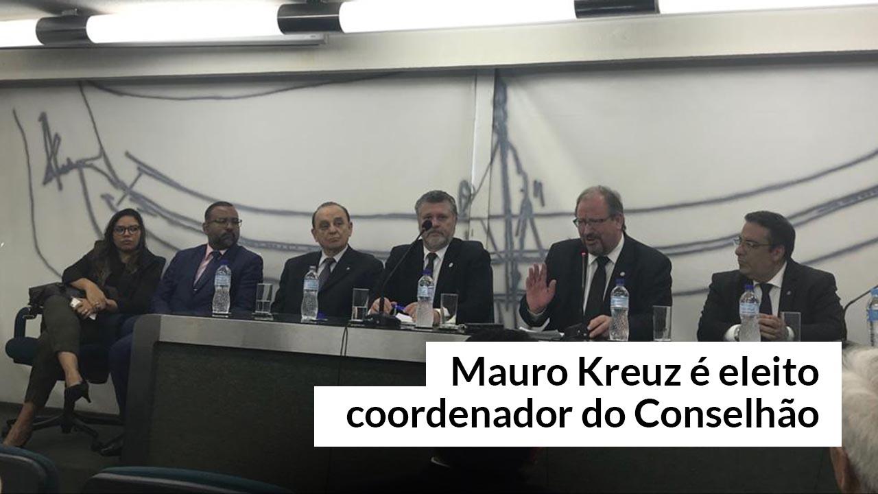 Mauro Kreuz foi escolhido por aclamação na reunião no Cofeci