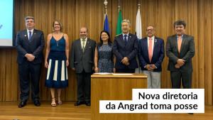 Conselhos diretor e fiscal da Angrad tomam posse