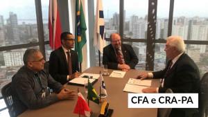 CRA-PA recebe a visita do presidente Mauro Kreuz