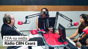 Presidente Mauro Kreuz conversa com a Rádio CBN sobre administração
