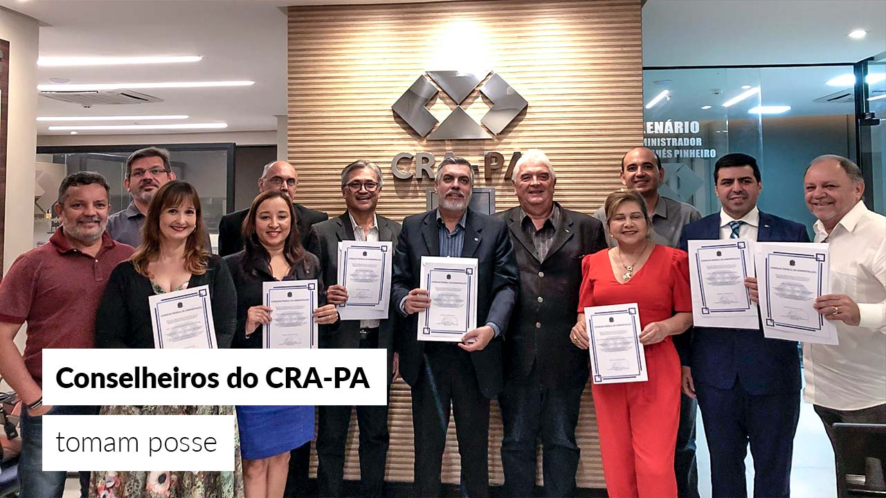 Conselheiros eleitos são diplomados na sede do CRA-PA