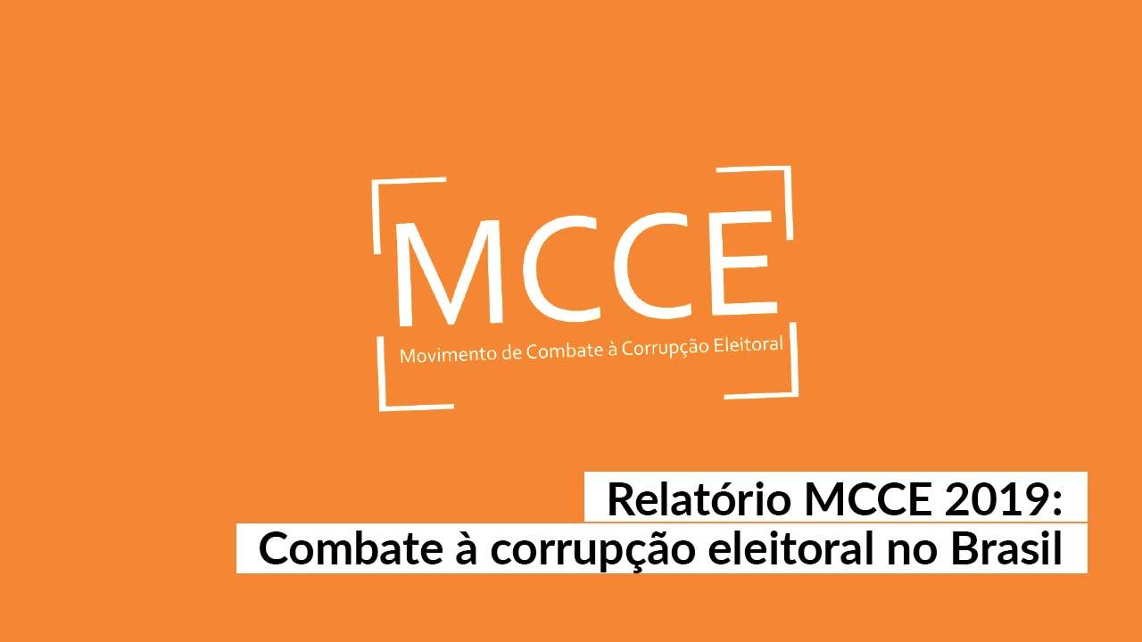 MCCE divulga relatório de atividades desenvolvidas em 2019