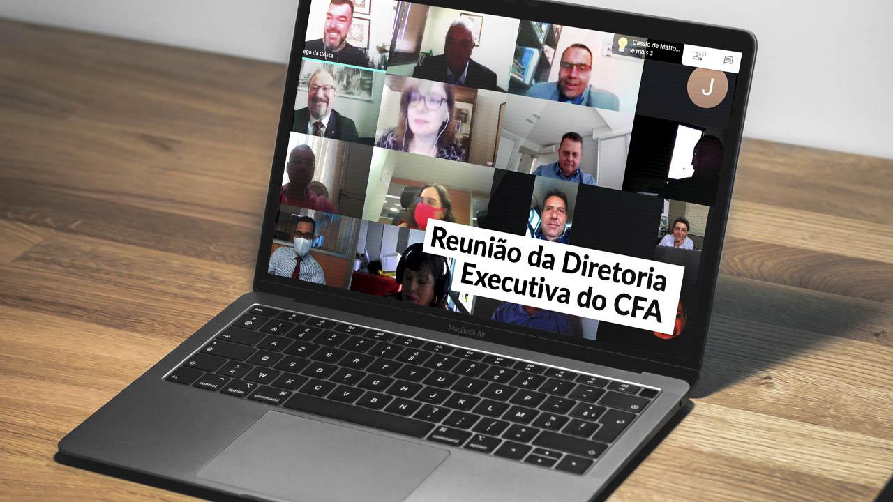 Direx faz teleconferência para discutir assuntos do Sistema CFA/CRAs