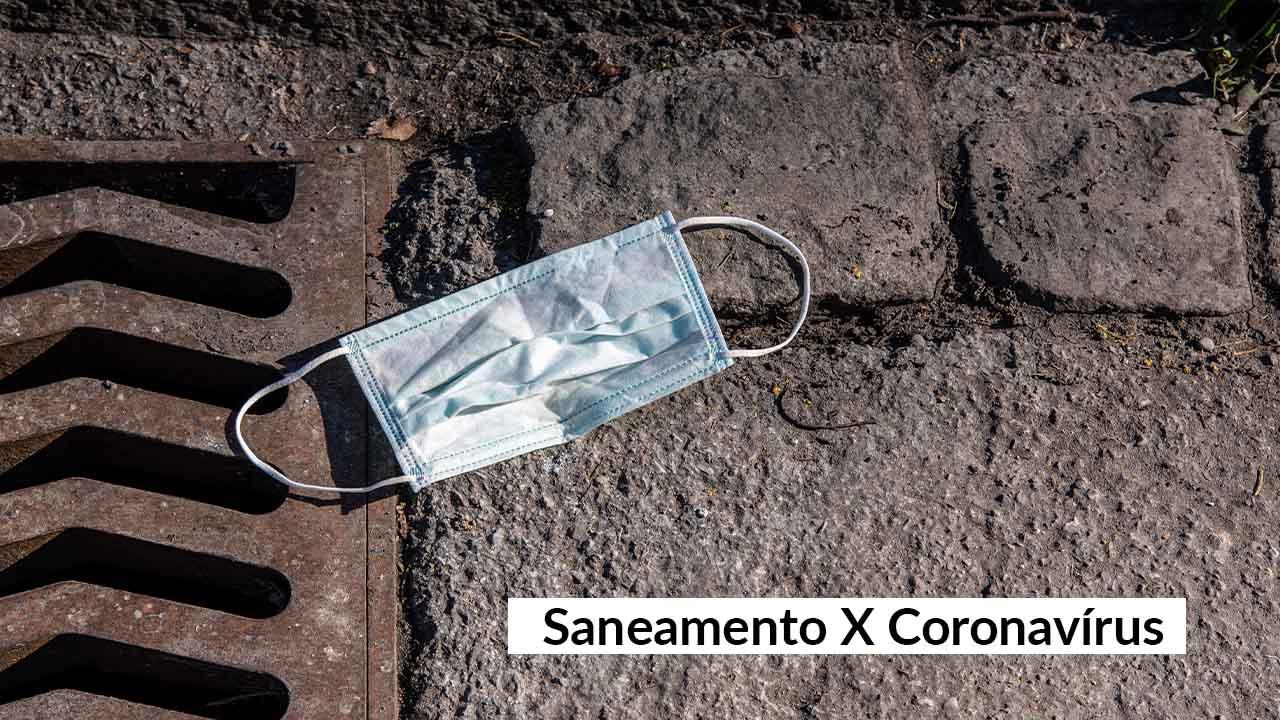 Falta de saneamento piora o combate ao coronavírus
