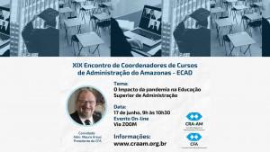 Formação acadêmica do administrador será discutida por especialistas