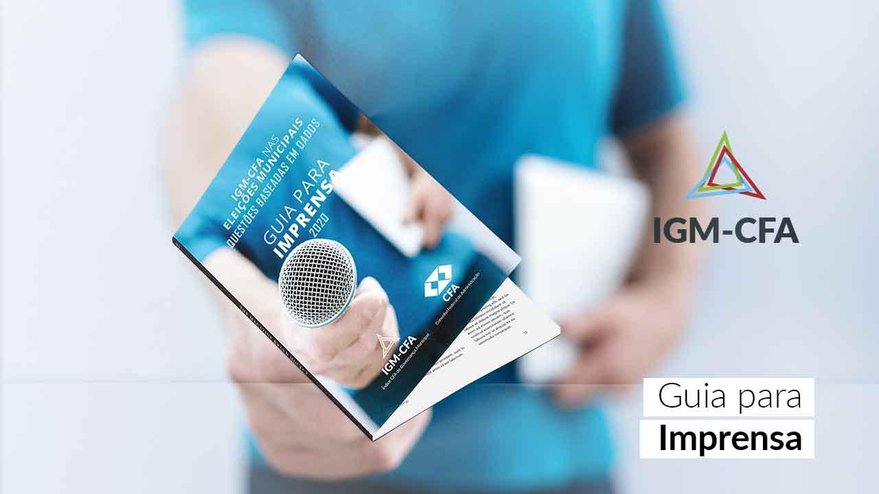 IGM-CFA elabora publicação para auxiliar jornalistas nas eleições municipais