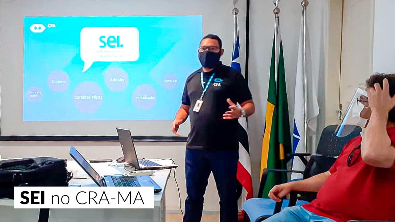 CRA-MA adota SEI para agilizar eficiência de processos
