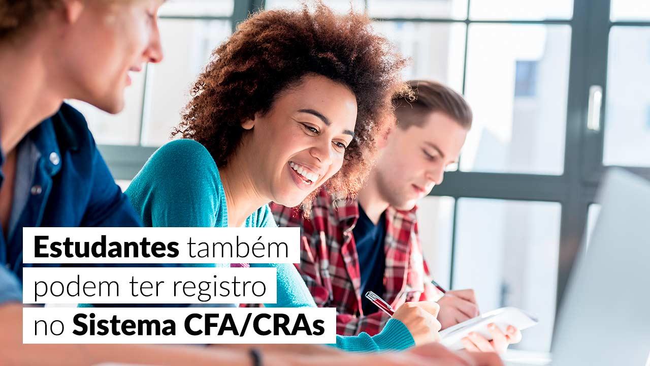 Registro é gratuito para alunos de Administração e cursos conexos