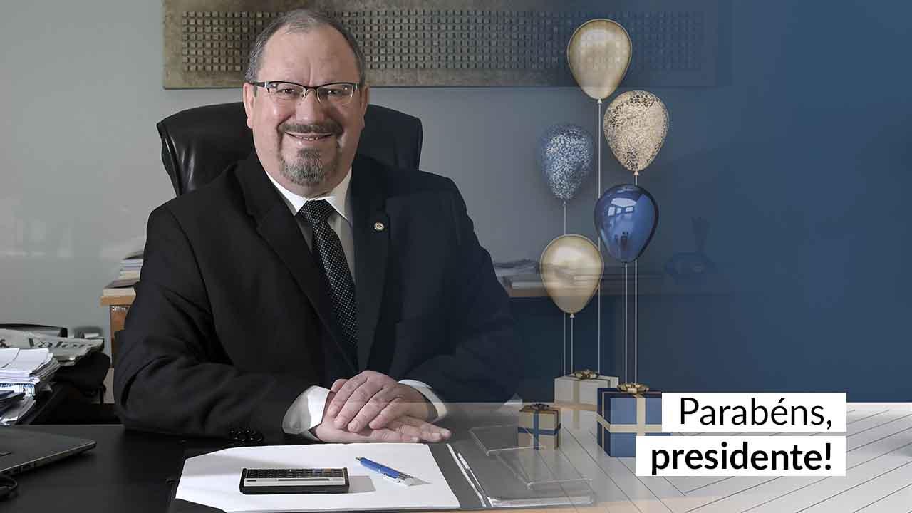 Hoje é aniversário do líder do CFA, Mauro Kreuz