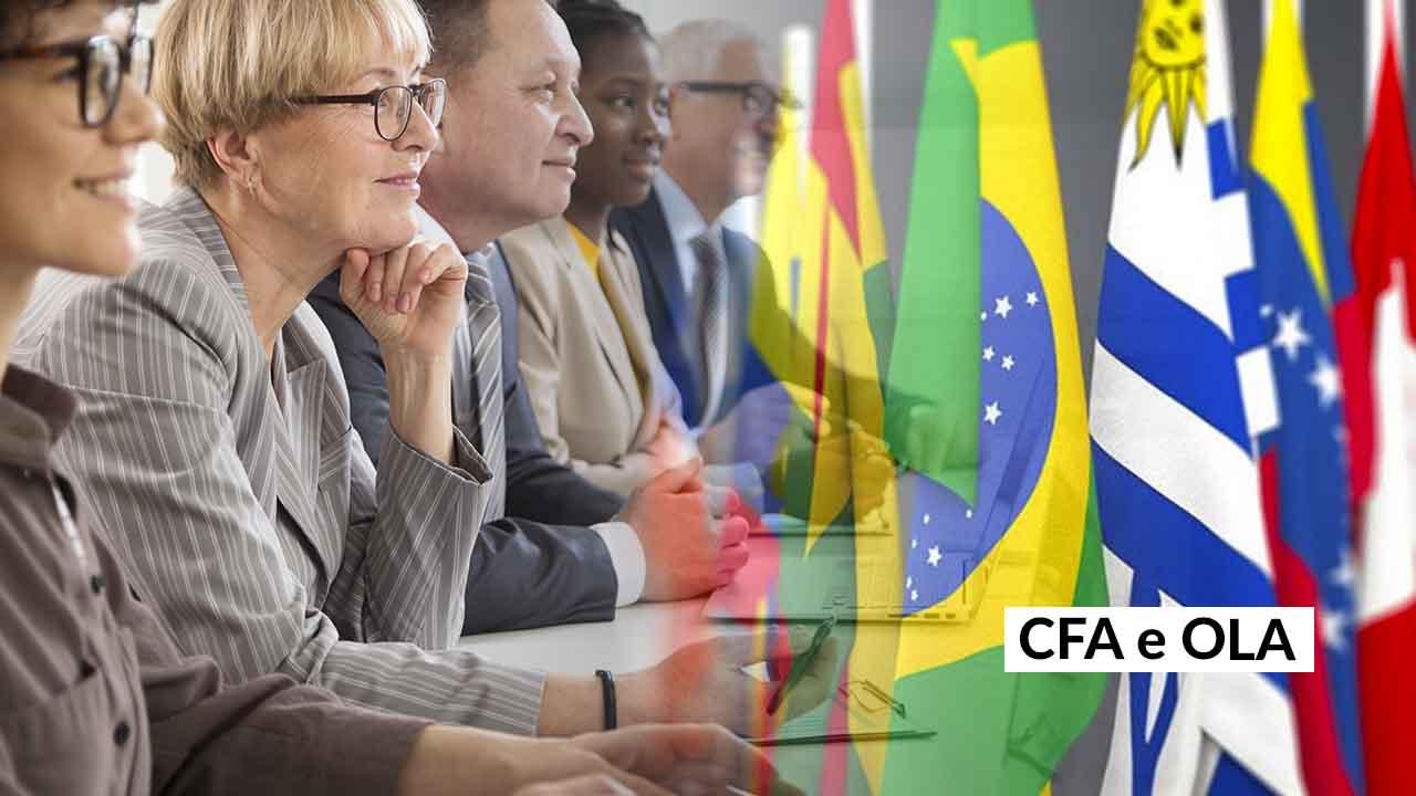 Nova diretoria da OLA tem membros do CFA