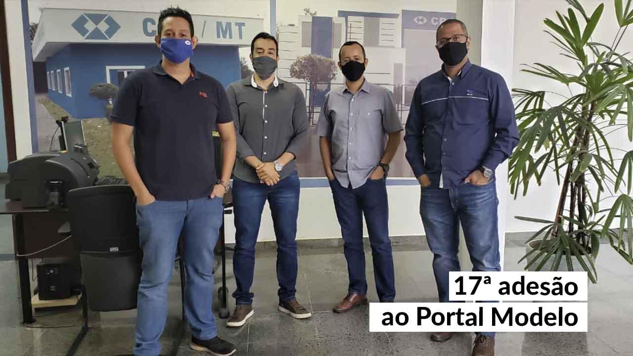 Modernidade no CRA-MT: novo portal já é realidade