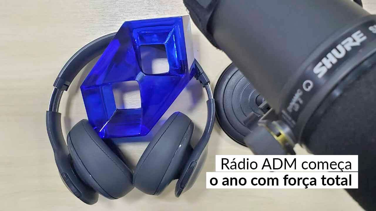 Jornalismo da Rádio ADM apresenta crescente na audiência