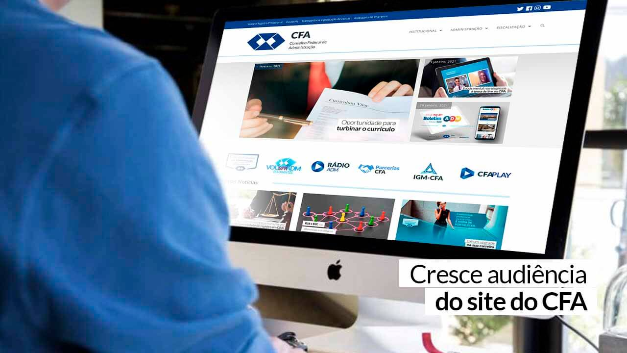 Read more about the article Em janeiro, mais de 34 mil usuários únicos visitaram o portal da autarquia