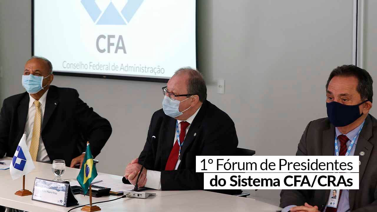 Presidentes do CFA e CRAs se reúnem para definir ações dos próximos anos