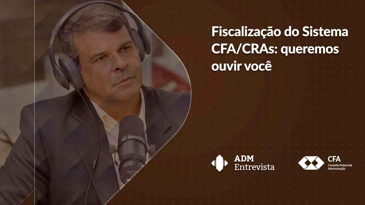 O bate-papo, ao vivo, será com o diretor de Fiscalização e Registro do CFA