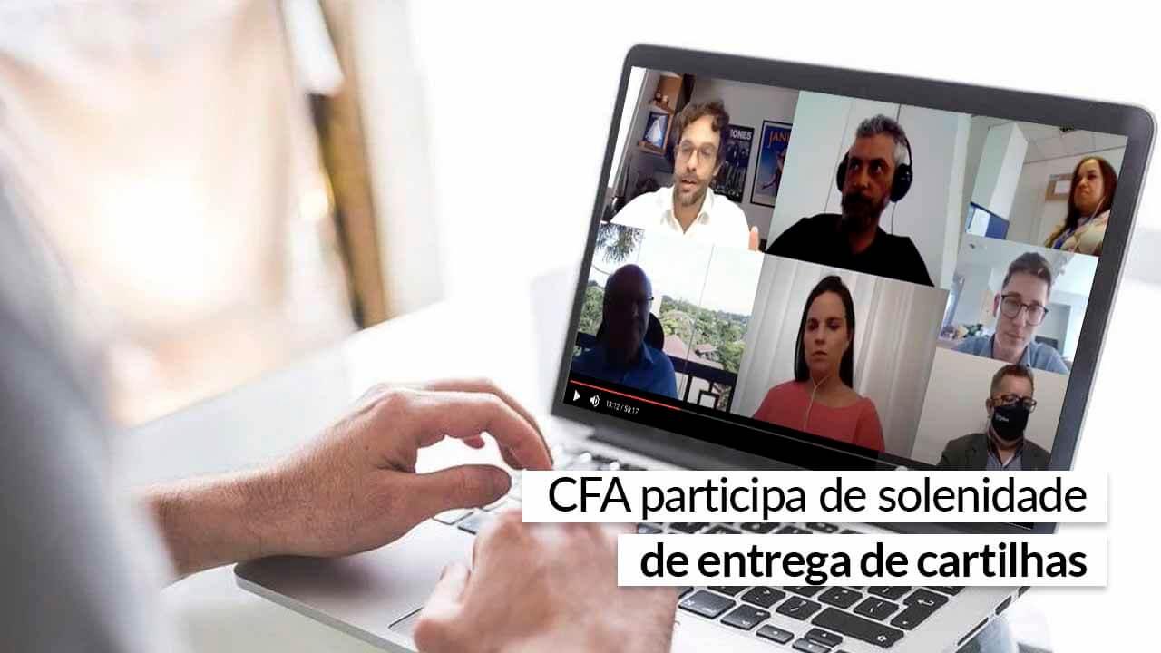 CFA participa de solenidade de entrega de cartilhas
