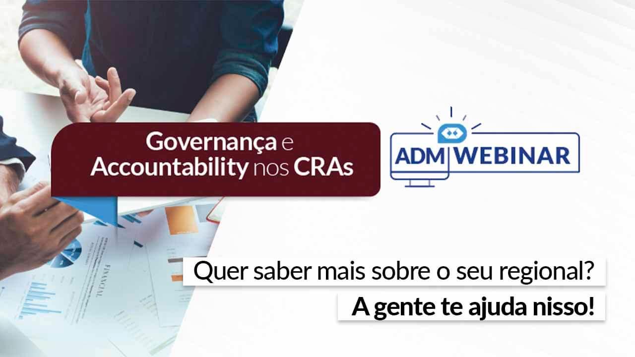 Governança e Accountability nos CRAs é no CFAPlay. Não perca!