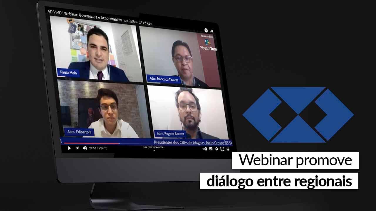 Produção do CFAPlay media debate sobre Governança e Accountability nos CRAs