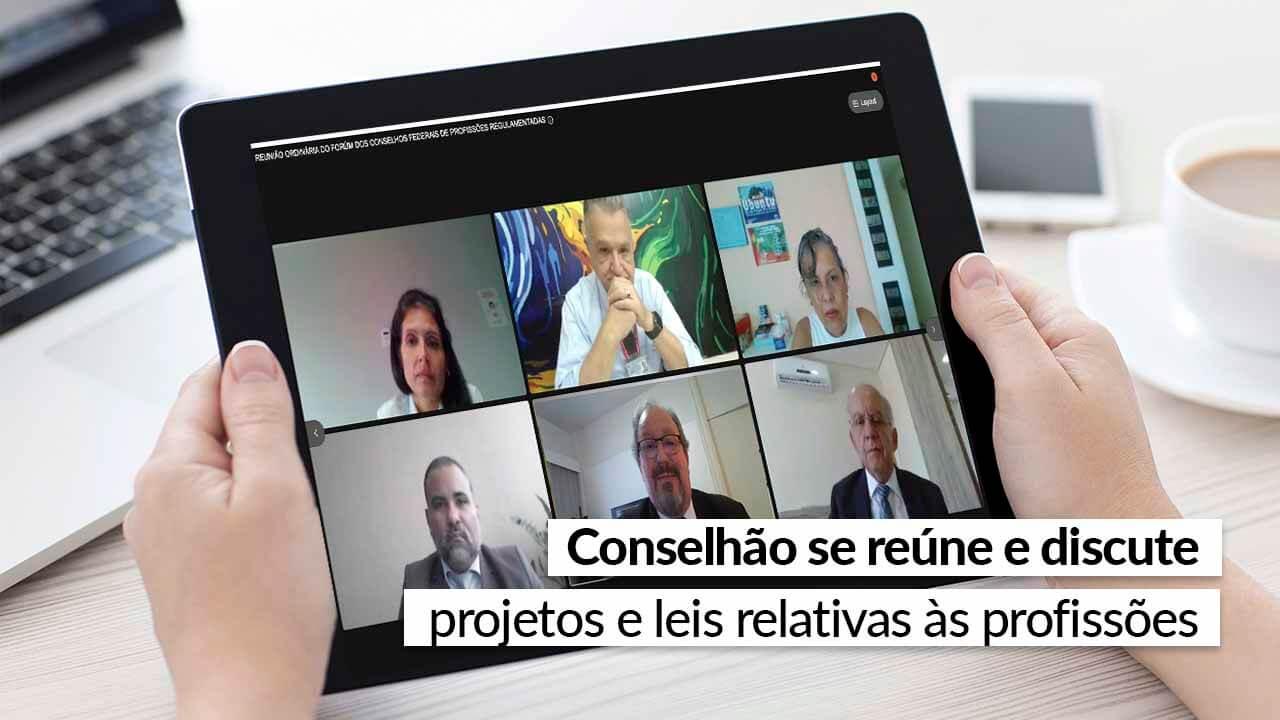 You are currently viewing Respeitando as recomendações da Saúde, encontro foi virtual