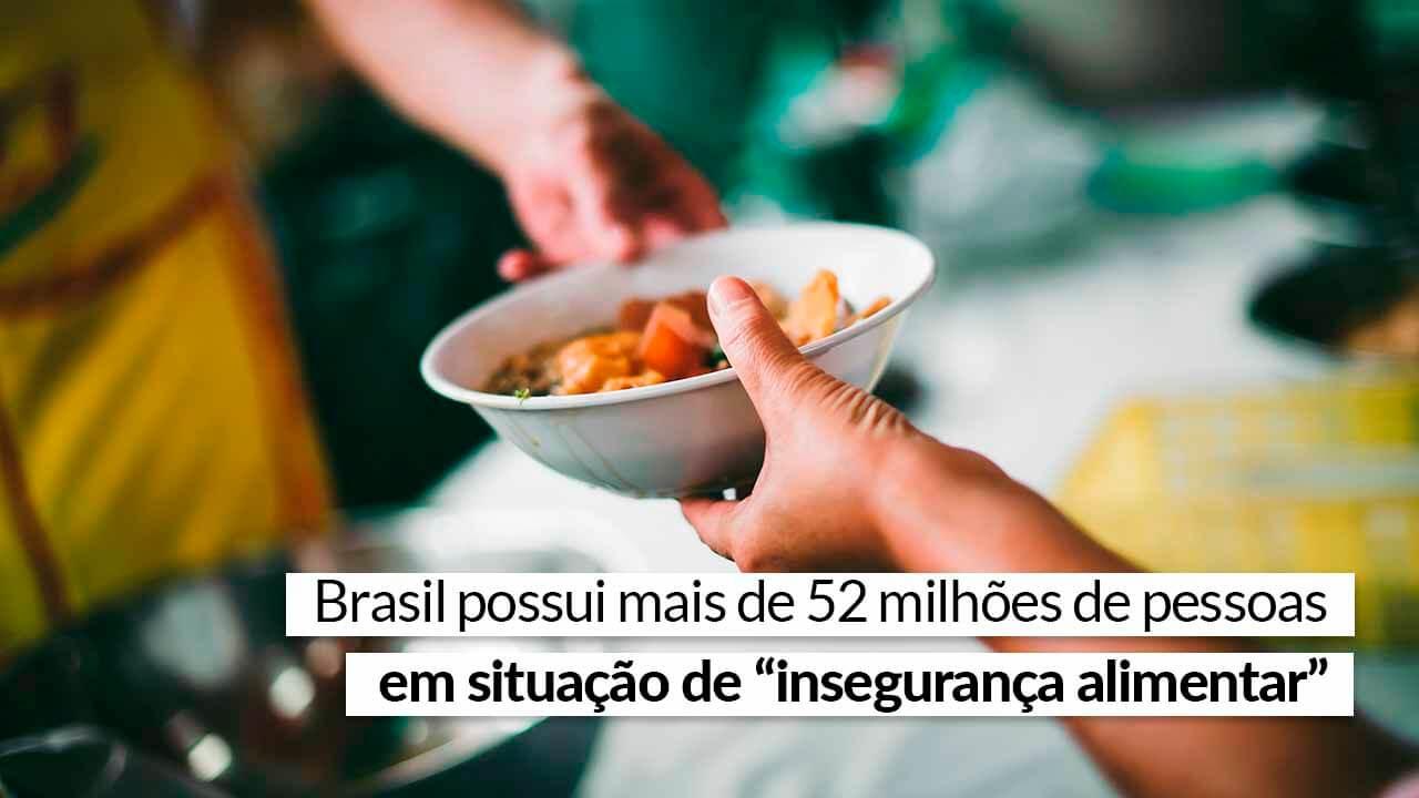 Cenário brasileiro é marcado pelo contraste entre fome e desperdício