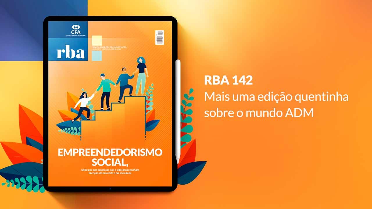 You are currently viewing RBA 142, mais uma edição pronta para você