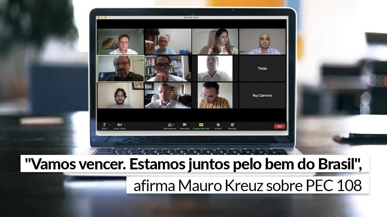 Read more about the article Parlamentares paraibanos se reúnem com membros do Sistema CFA/CRAs