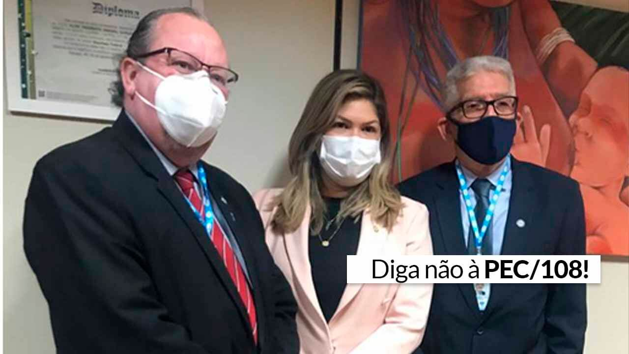 Read more about the article Deputada Federal do Amapá recebe CFA para reunião sobre PEC/108