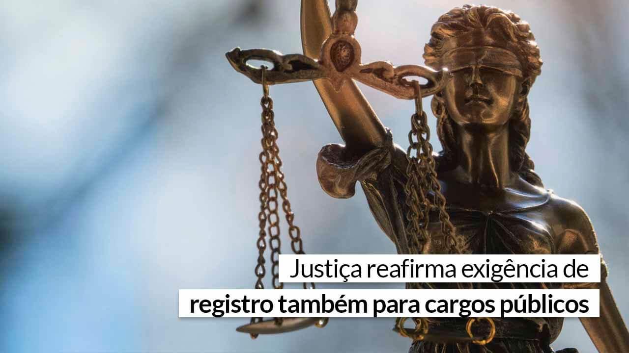 Read more about the article Cargos restritos da Administração exigem registro no CRA