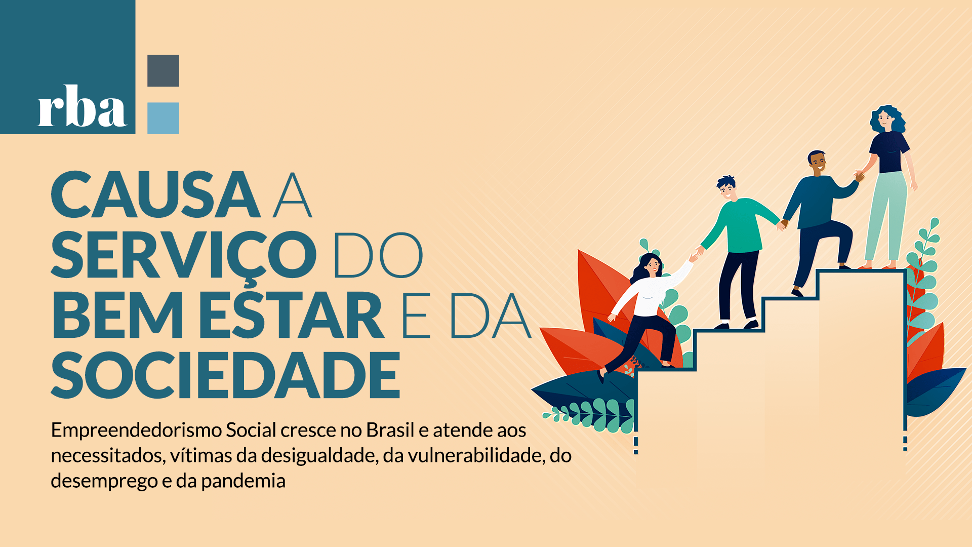 Read more about the article Empreendedorismo Social atua em prol da sociedade e do país