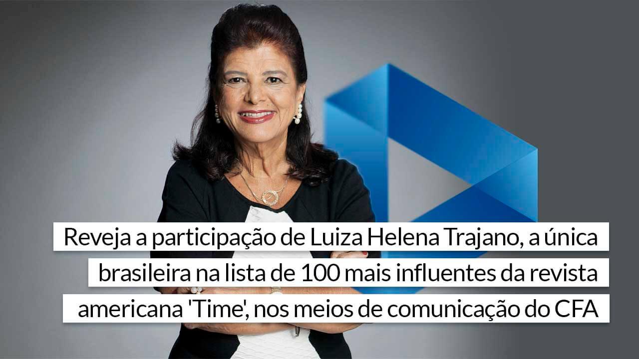 You are currently viewing Trajano, uma das mulheres mais influentes do mundo, já esteve no CFAPlay
